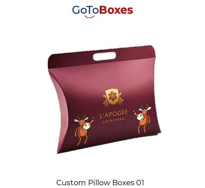 Pillow Boxes for distinctive packing purpose